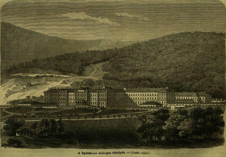Országos Tébolyda - Lipótmező 1869