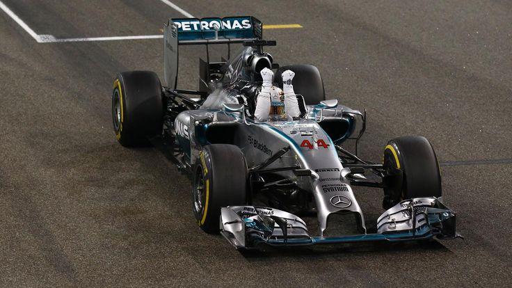 Lewis Hamilton (Mercedes) champion du monde au Grand Prix d'Abou Dabi ...