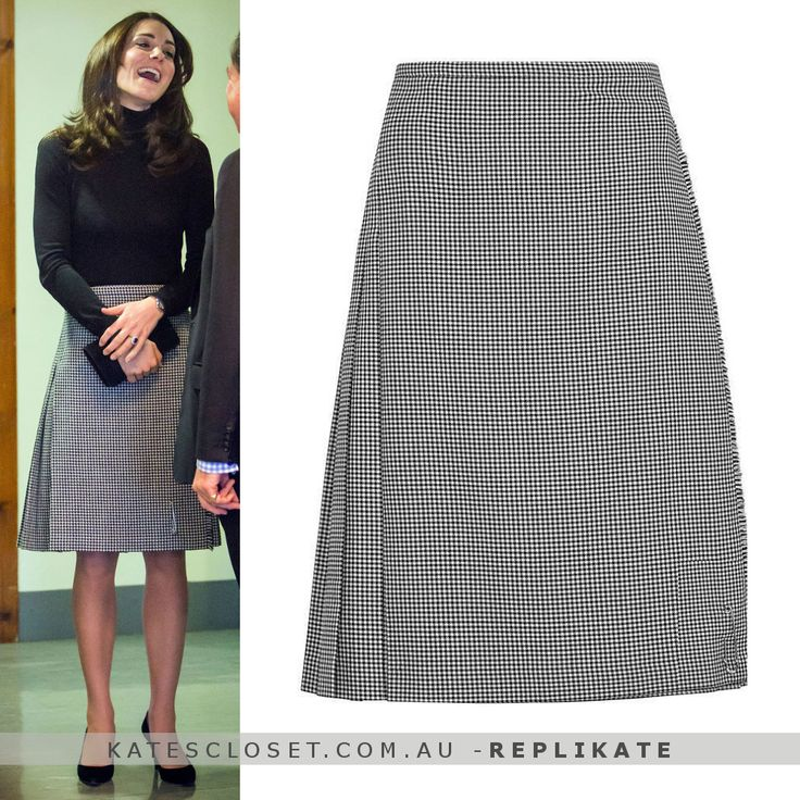 For the Le Kilt skirt. Click to shop