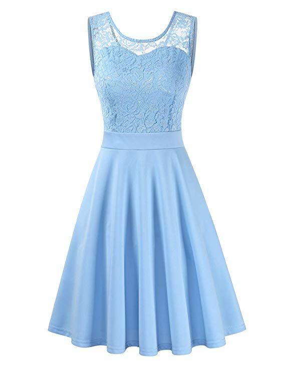 23+ Kleid Hellblau Knielang Ideen - Givil Lardo