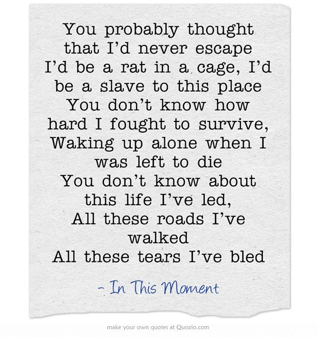 349 Best Lyrics To Live By Images On Pinterest
