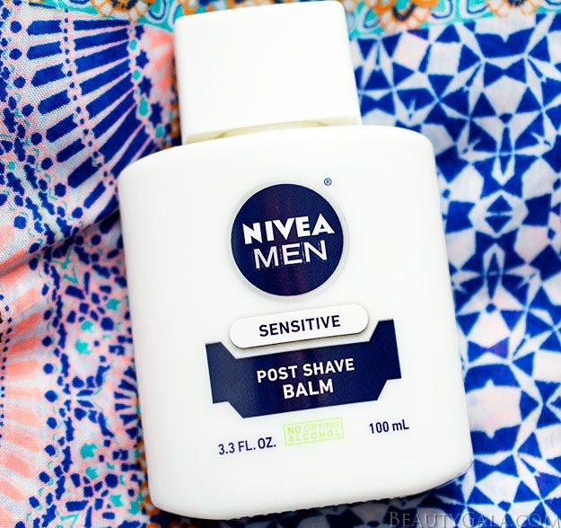 Nivea Men Sensitive Post Shave Balm As A Makeup Primer!