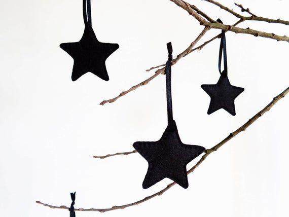 Scandinavian Christmas Star Ornament Decoration Nordic Tree Etsy Ornament Decor Minimalist Christmas Decor Minimalist Christmas