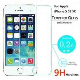 Folie ecran Sticla Tempered Glass Iphone 5, bulk la doar 14.99 lei