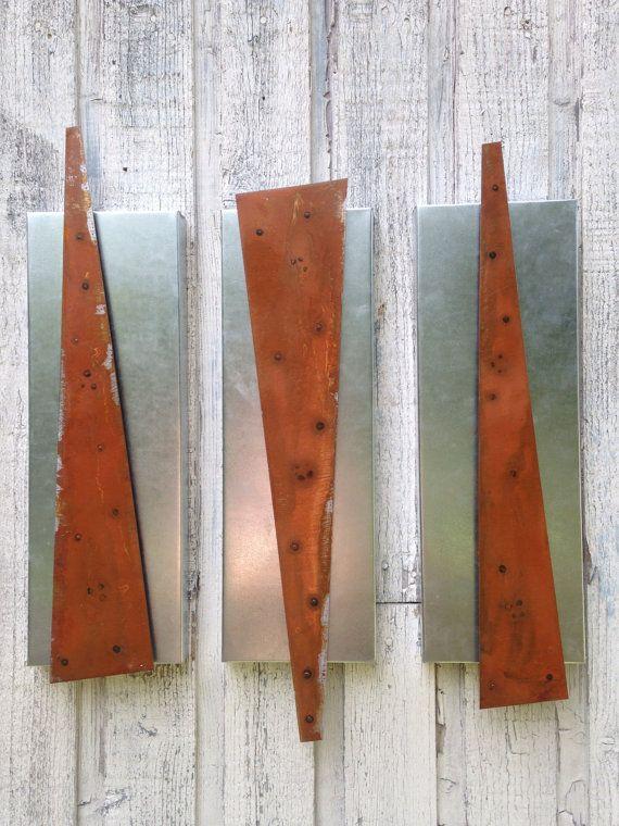 Abstract Metal wall art sculpture indoor/outdoor by onlyart76, $99.00