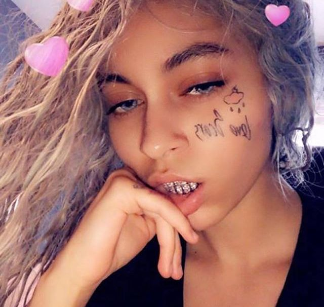 Face Tattoo Filter Instagram: Best Rapper, Hair Styles, New Girlfriend