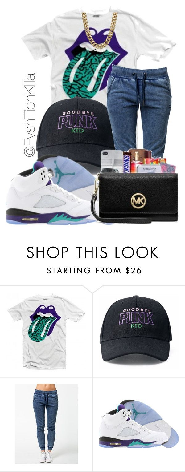 """""""Kodak black ft.Gucci Mane~Vibin in This bih"""" by fvshtionkilla ❤ liked on Polyvore featuring OnePiece and Retrò"""
