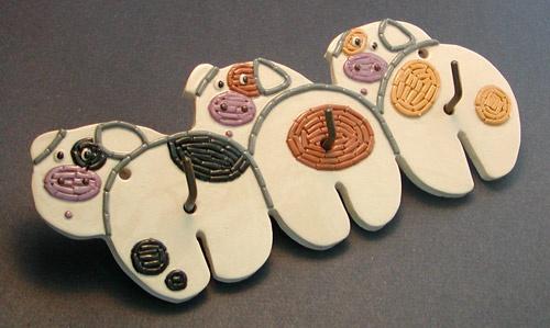 3 Little Pig Hooks