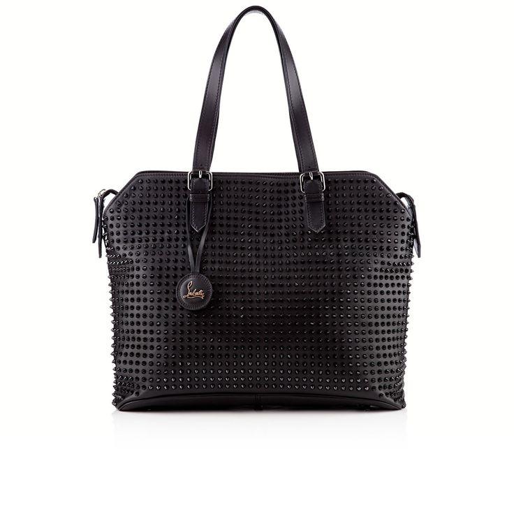 Christian Louboutin  syd shopping bag black calf leather