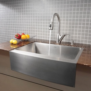 stainless steel apron sink - Stainless Steel Apron Sink