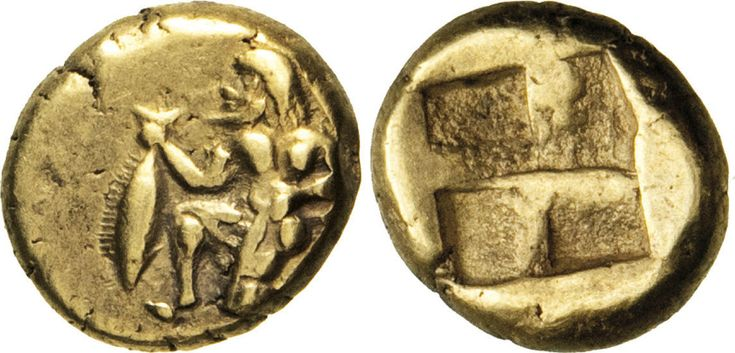 NumisBids: Numismatica Varesi s.a.s. Auction 65, Lot 35 : MYSIA - KYZIKOS - (500-450 a.C. circa) Hekte o 1/6 di Statere. D/...