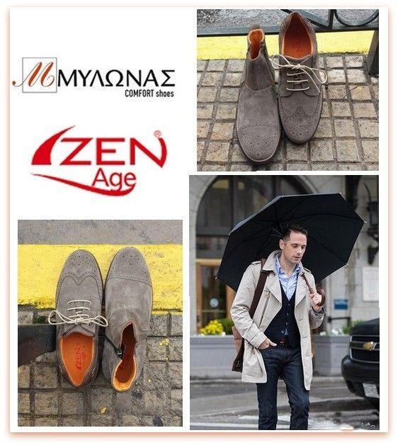 Mens shoes !! ZEN AGE #zan #age #man #shoes #mylonas  www.mylonas-shoes.gr tel. 2105985525
