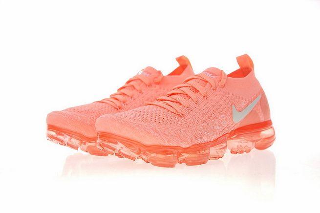 96184fabfd66 Latest 942843-800 Nike Air VaporMax 2 0 Womens Running Shoe Crimson Pulse  White