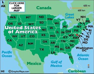 The Best United States Map Ideas On Pinterest Usa Maps Map - Us map showing washington dc