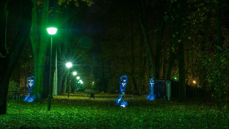 #noc #Planty #Białystok fot. Dawid Gromadzki