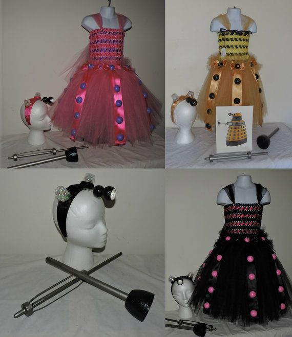 Custom MTO child Dalek Costume Tutu Dress by mysticalmooncreation #doctorwho #dalek #dalekcosplay #dalekcostume #dalektutu #doctorchocosplay #childdalek #dalekdressup #exterminate