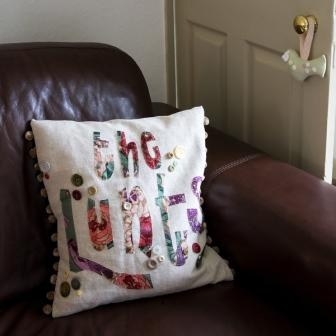 The Levers! Team Lever! Or one of her Family Tree Cushions on facebook
