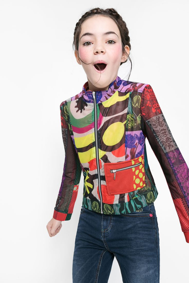 """Our """"Pop"""" kids jacket will make your little princess the star of any show!"""