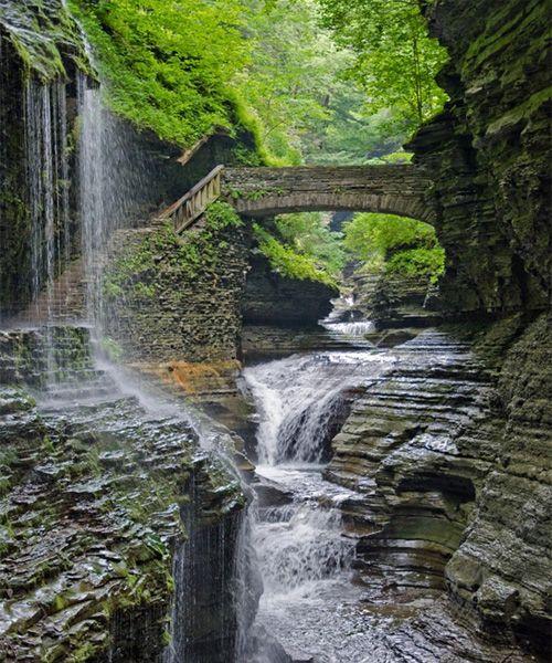 Beautiful Watkins Glen State Park - New York