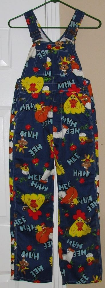 Vintage rare HEE HAW show overalls. Wonder if my mom kept mine?