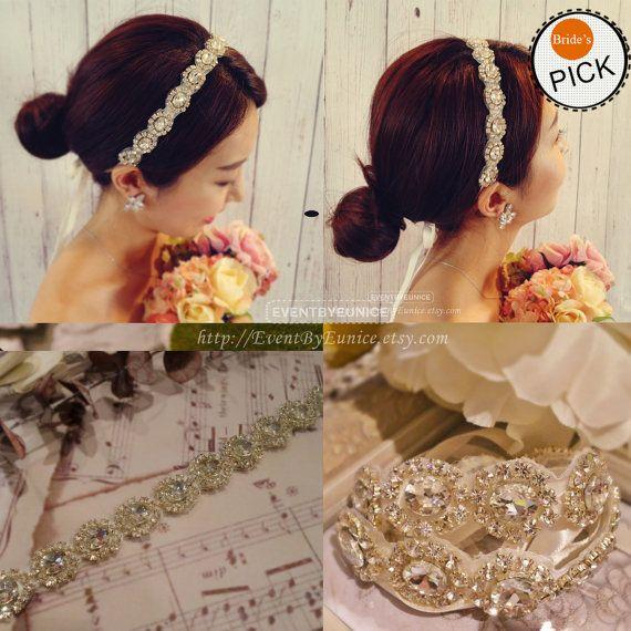Bridal Headpiece wedding headpiece bridal by EventbyEunice on Etsy