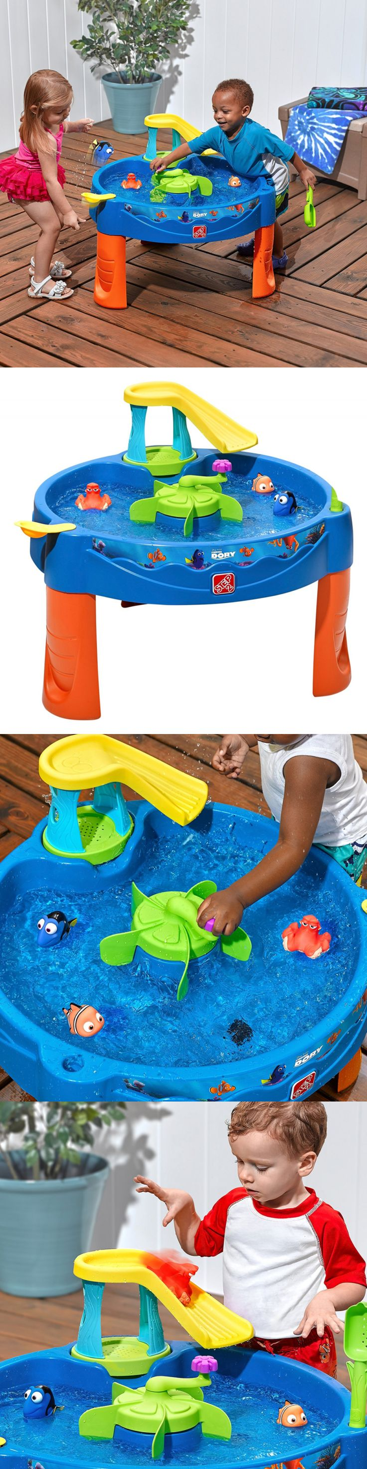Other Outdoor Toys Structures 11742: Step2 Finding Dory Swim And Swirl Water Table Toys Fun Games Outdoor Kids Children -> BUY IT NOW ONLY: $66.17 on eBay!