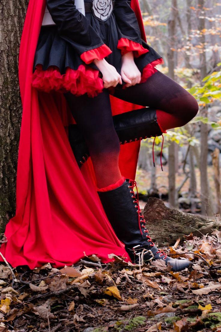Wandering Past: Ruby Rose (RWBY) Cosplay Tutorial