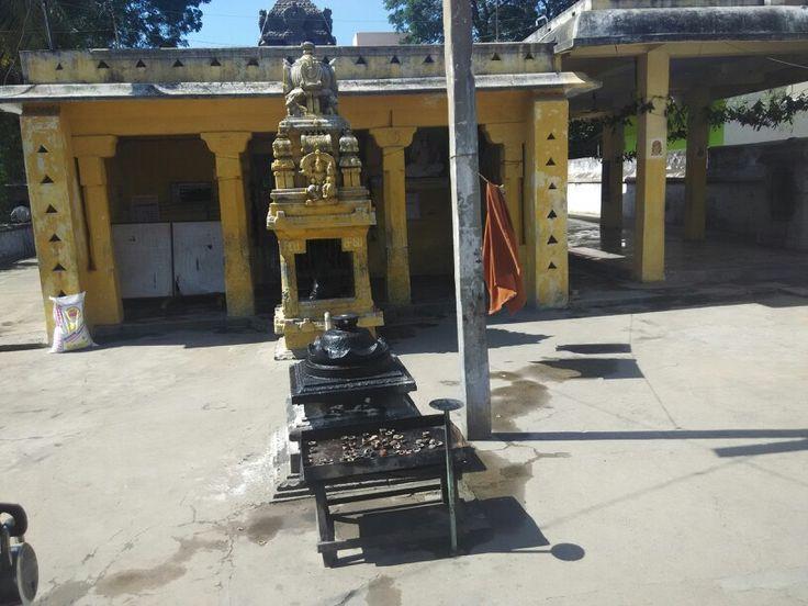 Aram valatheeswarar temple in valatheeswarar street near kirai mandabam, kanchipuram, tamilnadu, india. Www.tamiltour.com
