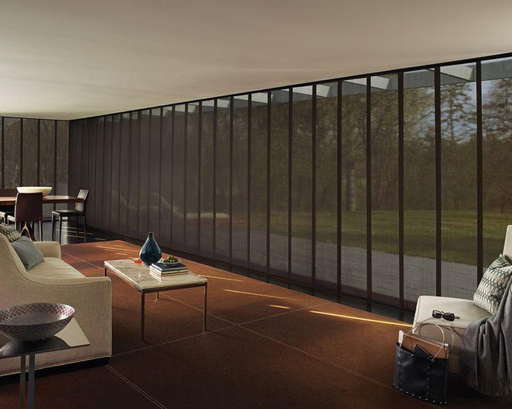 51 best images about hunter douglas skyline on pinterest for Hunter douglas motorized vertical blinds