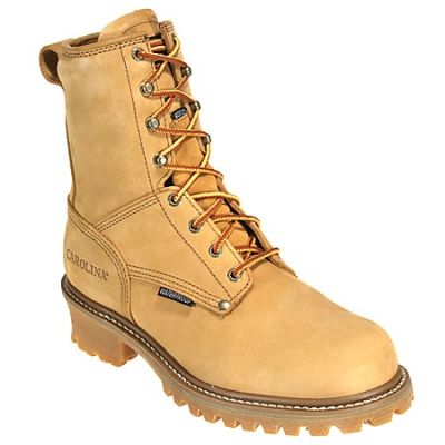 Carolina Boots Men's Steel Toe Waterproof CA5826 Insulated Logger Boot