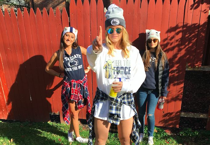 Penn State's Best Tailgating Outfits