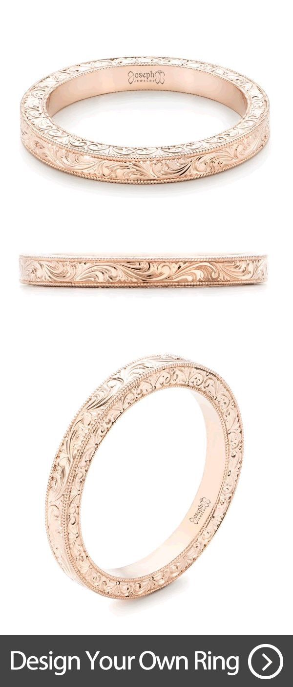 I have never seen a more perfect wedding ring in my life <3<3<3 I would add an inscription on the inside.