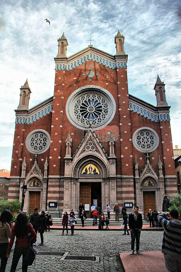 St.Antuan Church,ISTANBUL by MustafaSEZER.deviantart.com on @deviantART