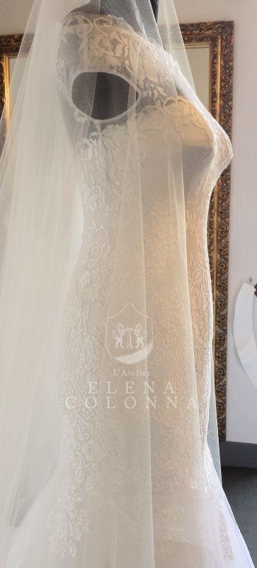 Matrimonio in stile vintage. L'abito da sposa dallo stile retrò by L'Atelier Elena Colonna.