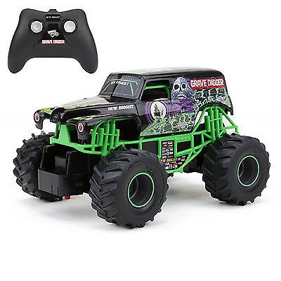 grave digger rc remote control monster truck jam toy racing car for kids gift