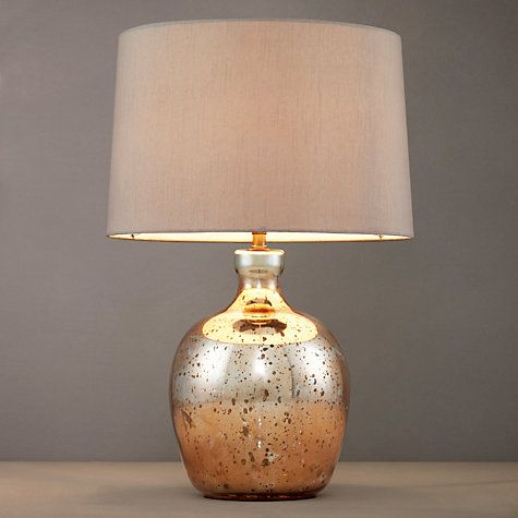 #sleepsanctuary Buy John Lewis Tabitha Copper Table Lamp Online at johnlewis.com