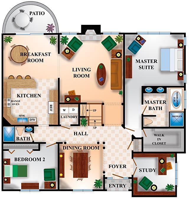 Architectural Graphics Floorplans