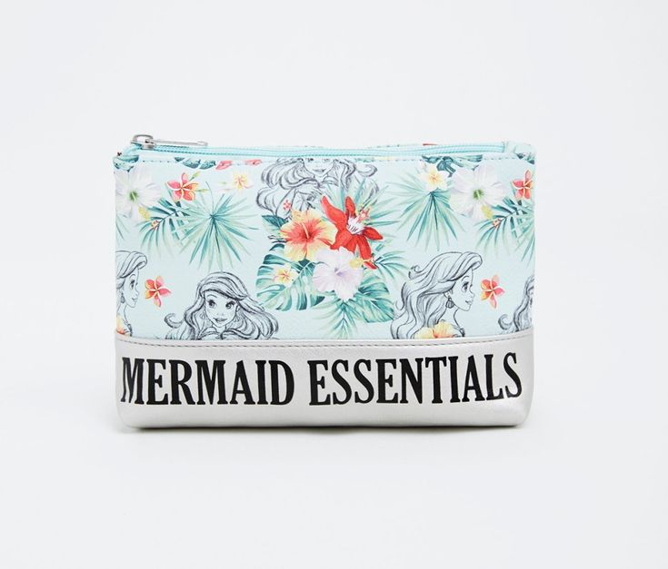 Disney Ariel Mermaid Essentials Makeup Bag / Plus Size Clothing / TORRID