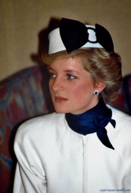 rare picture of Princess Diana