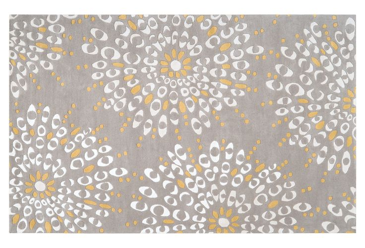 One Kings Lane - Contemporary Rugs - Oliver Rug, Gray/Ivory