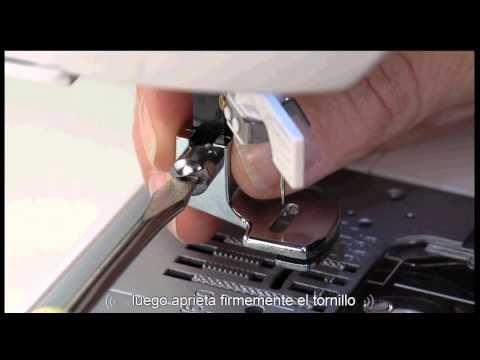 Maquina de coser singer : Prensatela de doble arrastre : ventas en Ecuador - YouTube