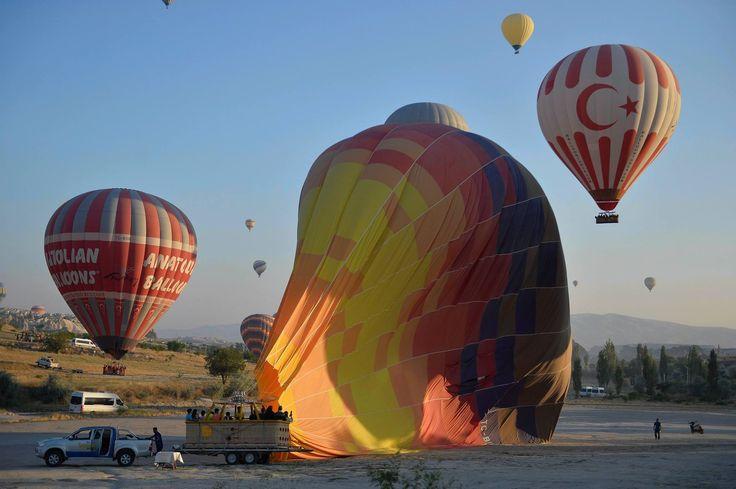 Sıcak Hava Balonları-Kapadokya