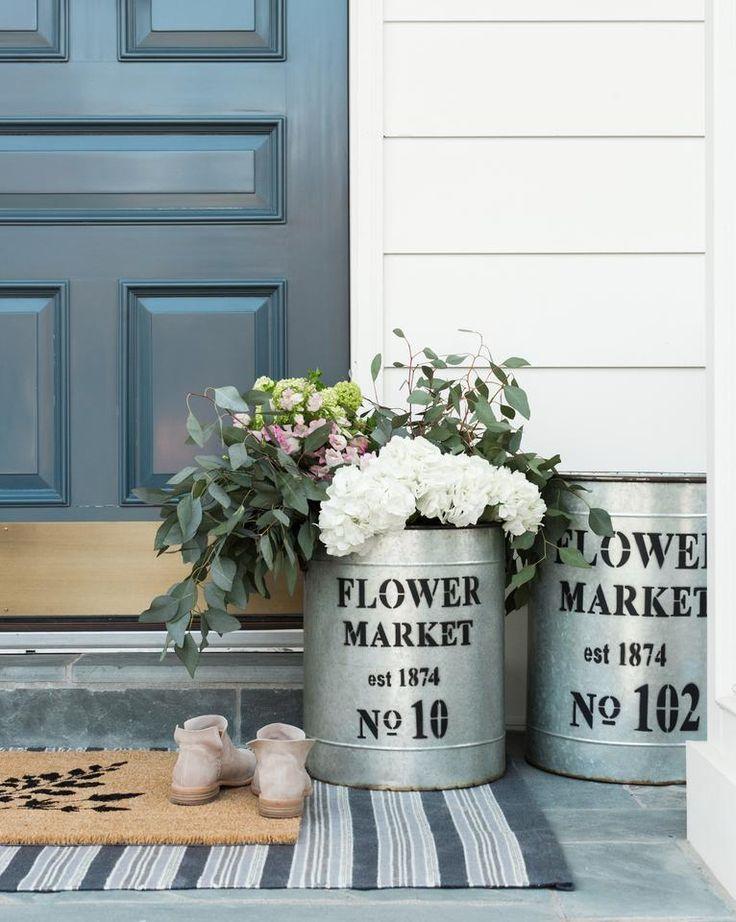 Fern doormat mcgee co spring doormat front door styling fern