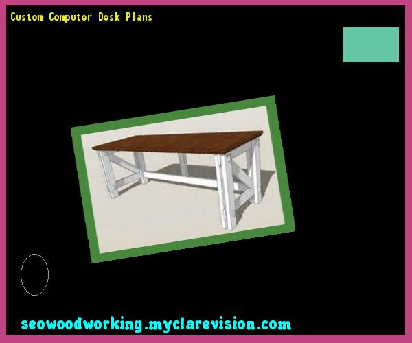 Custom Computer Desk Plans 135139 - Woodworking Plans and Projects!