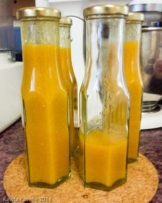 Spicy Sungold Tomato Ketchup