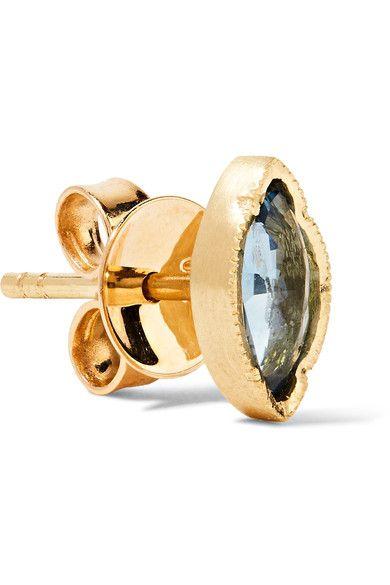 Brooke Gregson - 18-karat Gold Sapphire Earrings - one size