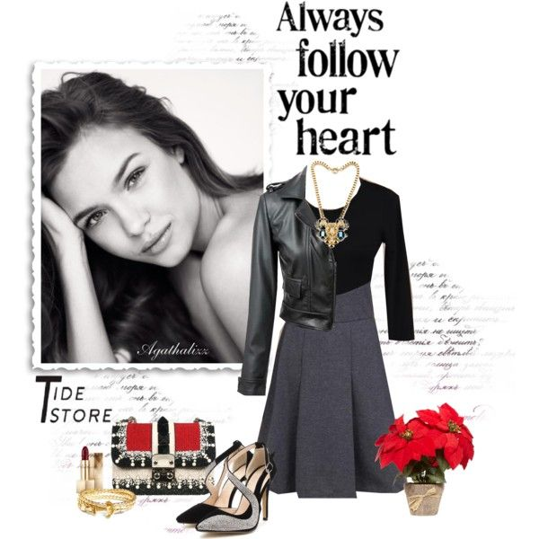 """""""Always Follow Your Heart"""" by agathalizz on Polyvore"""