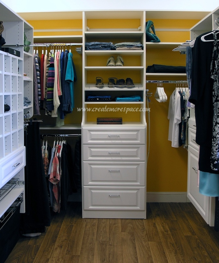 I so need an organized walk-in without the weak wire racking!