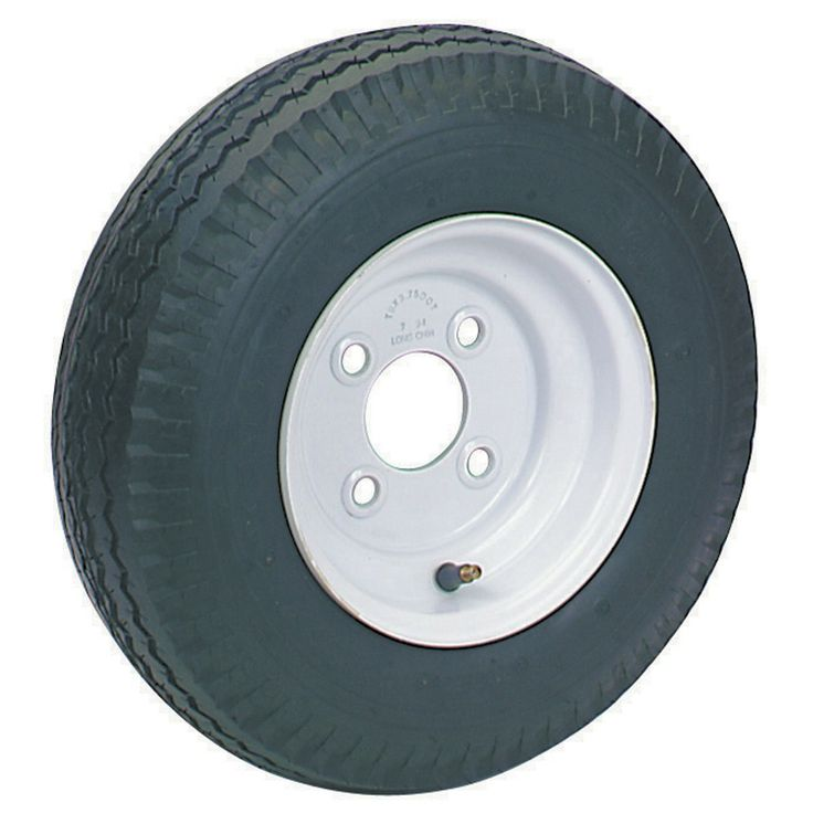 4.80/4.00-8 Four Ply Rated #Tire with 4 Lug Rim