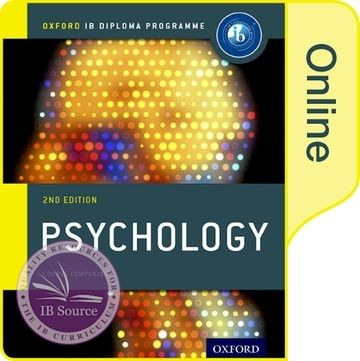 IB Psychology Online Course Book NOT YET PUBLISHED DUE SEPTEMBER 30, 2017